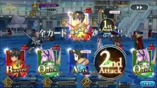 水着剣豪 第六カジノ「対決、アロハ三銃士(その3)」 低レア 2ターン[FateGO]