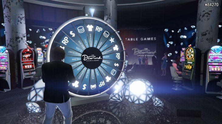 GTA5のカジノで車を当てる男