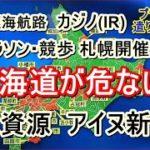 北海道が危ない!!! – 水資源 アイヌ新法 カジノ(IR) マラソン・競歩札幌開催 北極海航路