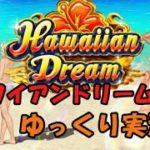 【ベラジョンカジノ】ハワイアンドリーム練習中!無料デモプレイ♪【ゆっくり実況】