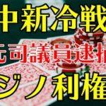 秋元司逮捕事件。米中新冷戦とカジノ利権。IR法案。
