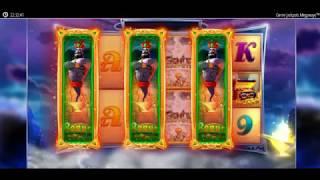 読者のマジックボールさんがカジノシークレットのスロット「geniejackpots(ジーニー・ジャックポット)」をプレイ!