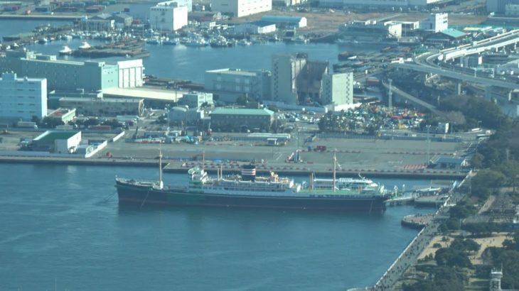 横浜市のカジノを含む統合型リゾート(IR)の誘致予定地である山下ふ頭の現況(2020年1月19日)