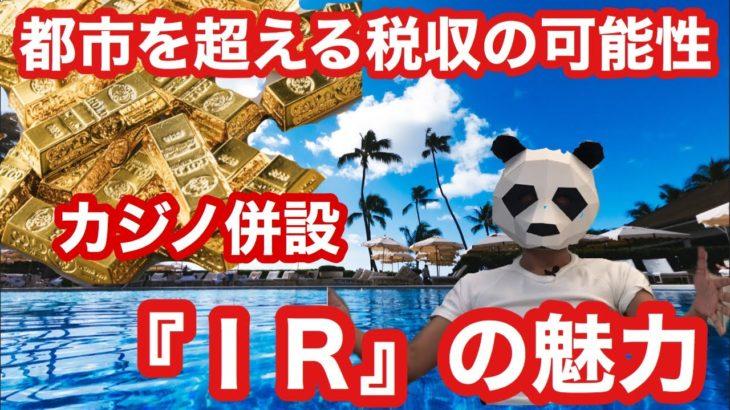 【カジノ大好き】統合型リゾート『IR』ってなんだっけ?4分で解説!都市の年間税収をも上回る無限の可能性を秘めたリゾート