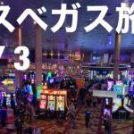 【Vlog】ラスベガス旅行  DAY 3 カジノ! アウトレット! フリーモントエクスペリエンス!
