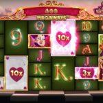 【オンラインカジノ】一撃力最強!?期待の新台で勝利!【Queen of Wonderland MW】