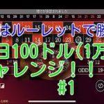 「カジノ」1日10000円チャレンジ!!♯1