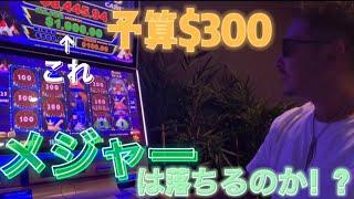 【カジノ】1回転$10‼️‼️‼️(¥1000)でガチでジャックポットを落としにいってみたら逆にすごい結果にw‼️‼️‼️