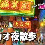 夜のマカオを歩く~カジノエリアから世界遺産まで【澳門夜散歩】~Walk around Macau 2021 #36